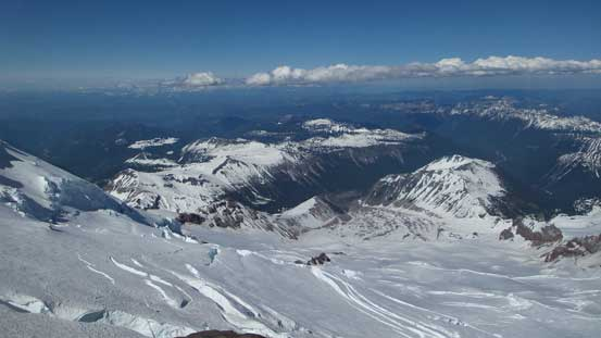 Another look over the direction of Emmons Glacier