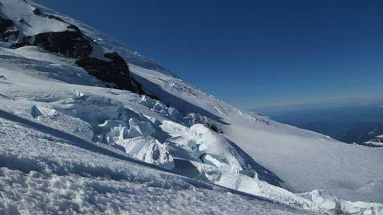 Still lots of impressive glacier scenery