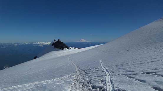 Across Cowlitz Glacier