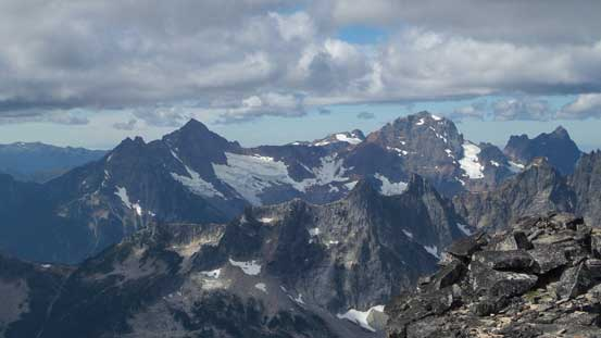 Mt. Larabee and American Border Peak