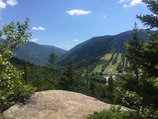 Partway up, already had some good views towards Franconia Notch