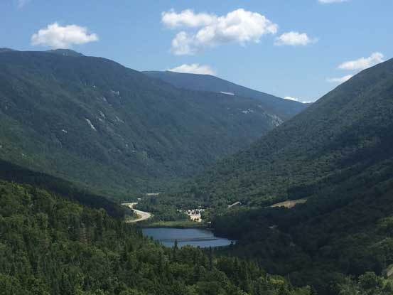 Echo Lake and Franconia Notch