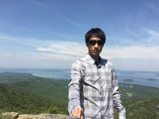 Me on the summit of Cadillac Mountain