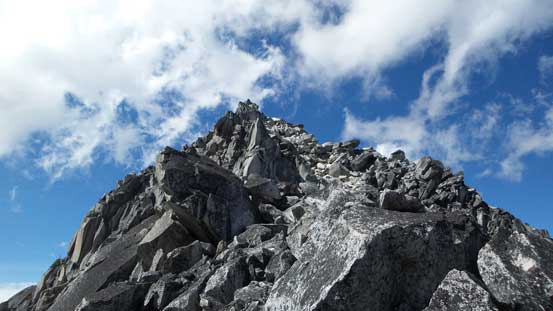 The North Spire from North/South col