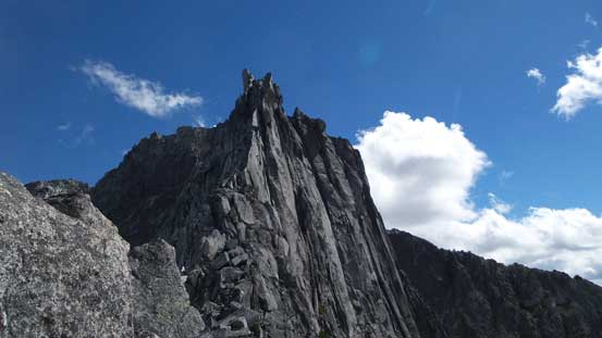 The South Spire from North/South col