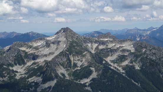 MacDonald Peak is a popular one near Chilliwack Lake