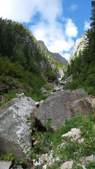 Back across the creek