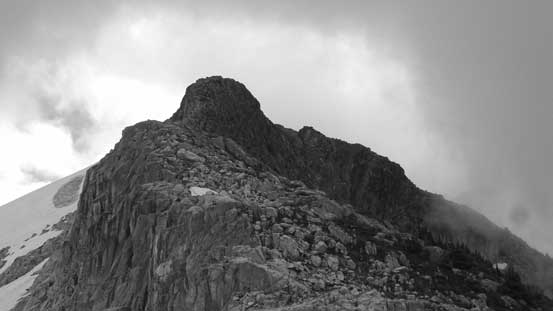 The summit of Mt. Gillespie is in sight