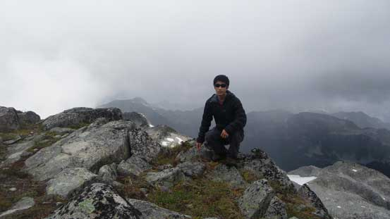 Me on the summit of Mt. Gillespie
