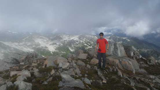 Me on the summit of Seed Peak