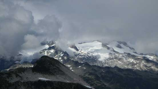 Mamquam Mountain and its glaciers