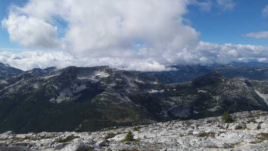 Another view looking west towards Fraser Peak et al.