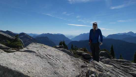 Me on the summit of Dunkeld Peak