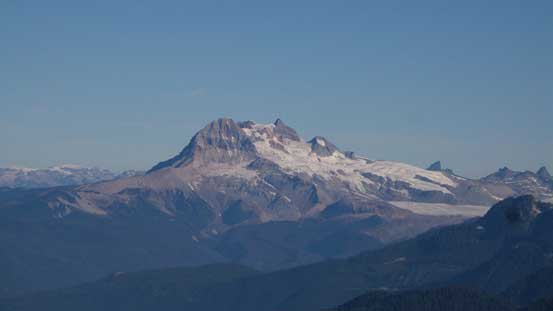 Mt. Garibaldi massif - happy to have both Atwell and Garibaldi bagged earlier in this year