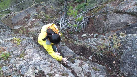 A short scrambling step