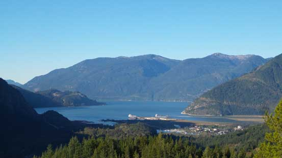 A nice view of Howe Sound
