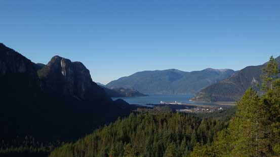 Another picture of the Chief and Howe Sound