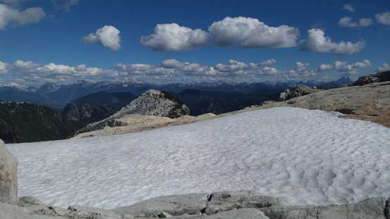 A cool snowfield.