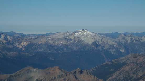 Mt. Daniel is that glaciated massif, also in Alpine Lakes area