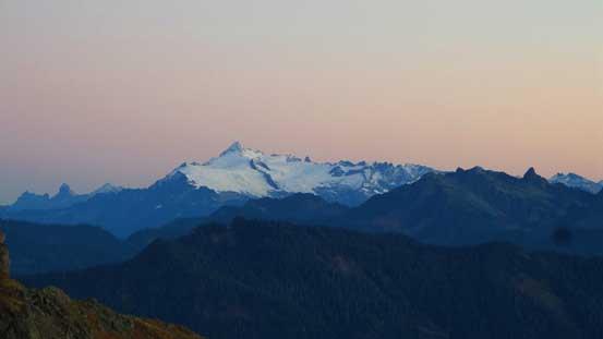 Mt. Shuksan pre-dawn view