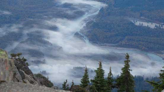 Valley fogs