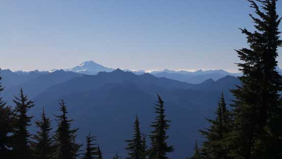Glacier Peak on the horizon