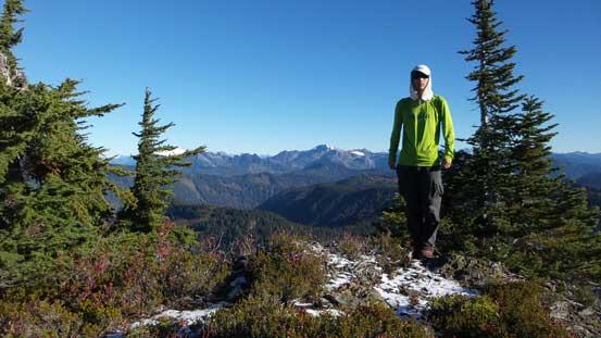 Me on the summit of Bald Mountain.
