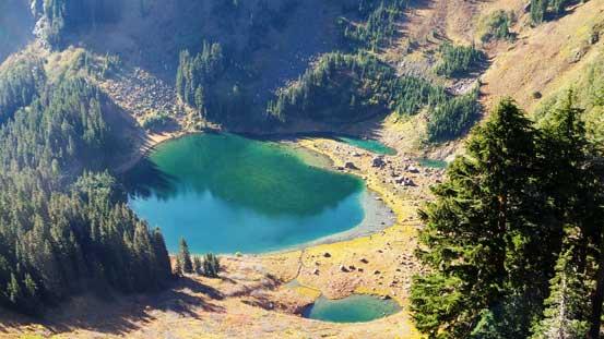 A closer look at Sauk Lake