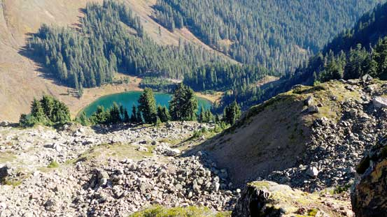 One last look at Sauk Lake