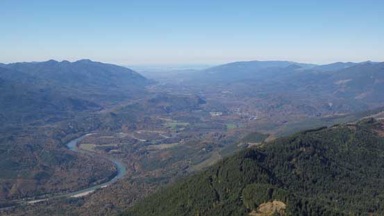 Another look at the Skagit Valley flats