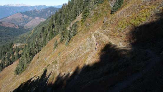 Lots and lots of switchbacks...