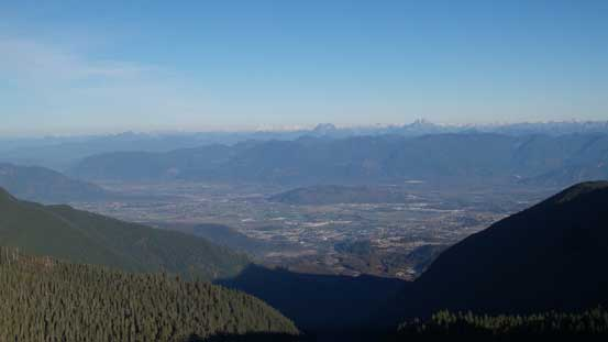 A look towards Fraser Valley