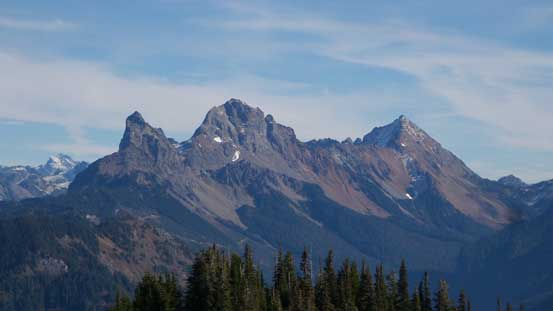 The Border Peaks (Canadian and American) and Mt. Larabee