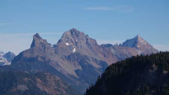 The Border Peaks and Mt. Larabee