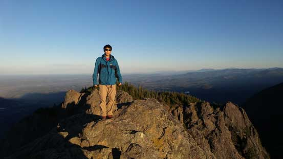 Me on the summit of Mt. Si