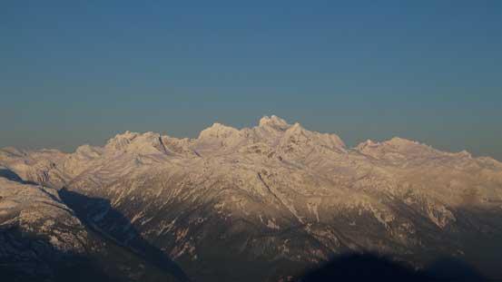 Mt. Tantalus massif