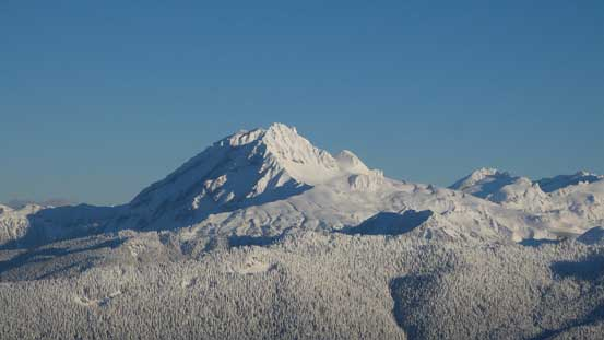 One last look at Atwell Peak/Mt. Garibaldi massif