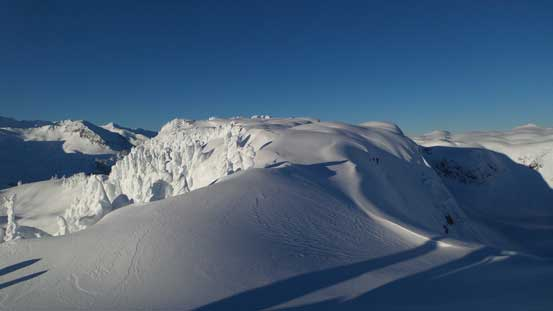 More about the east ridge traverse
