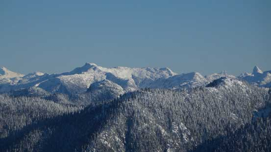 From the col, looking towards Mt. Bonnycastle