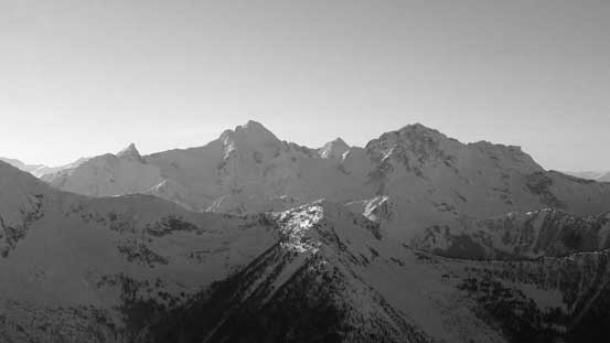 Mt. Matier and Joffre Peak