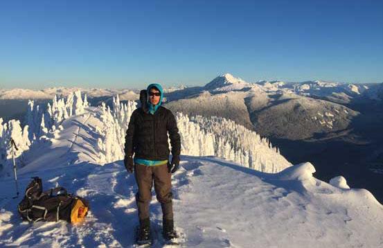 Me on the summit of Anif Peak