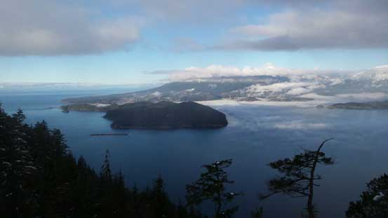 Keats Island and Howe Sound from that viewpoint
