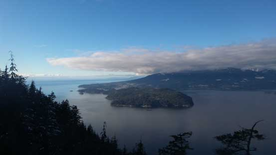 Howe Sound from the lower view point