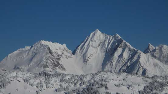 Welch Peak is the highest in Cheam Range