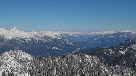 Looking up the Squamish Valley