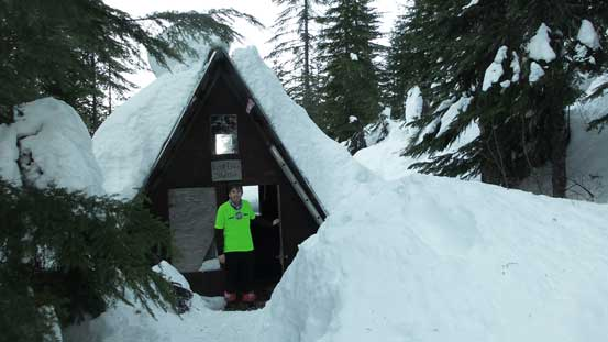 Down to Lost Creek Shelter now.