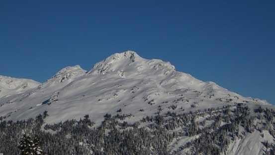 Hidden Peak looks fairly impressive from this angle
