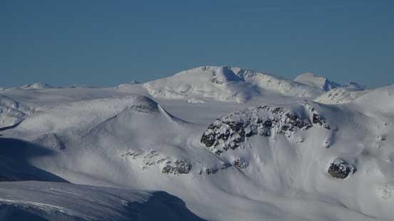Exodus Peak on the western edge of Pemberton Icefield