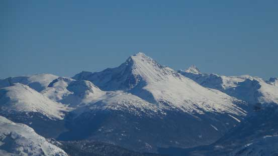 Wedge Mountain - the 4th highest in SW BC and highest in Garibaldi P. Park