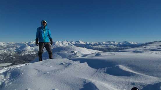 Me on the summit of Journeyman Peak